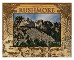 Mount Rushmore South Dakota Laser Engraved Wood Picture Frame (5 x 7)
