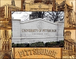 University of Pittsburgh Laser Engraved Wood Picture Frame