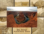 Big Bend National Park Laser Engraved Wood Picture Frame (5 x 7)