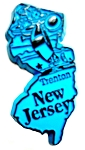 New Jersey Trenton Fridge Magnet