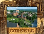Cornell University Laser Engraved Wood Picture Frame (5 x 7)