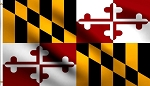 Maryland 3 x 5 Poly Flag