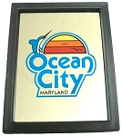 Ocean City Maryland Mirror Fridge Magnet