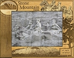 Stone Mountain Park Atlanta Georgia Engraved Wood Picture Frame