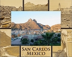 San Carlos Mexico Laser Engraved Wood Picture Frame (5 x 7)
