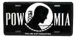 POW-MIA License Plate Novelty Fridge Magnet
