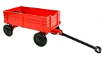Red Wagon Die Cast Metal Collectible Pencil Sharpener