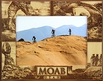 Moab Utah Quad Laser Engraved Wood Picture Frame