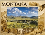 Montana Laser Engraved Wood Picture Frame (5 x 7)