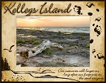 Kelleys Island Ohio Laser Engraved Wood Picture Frame (5 x 7)