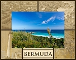 Bermuda Laser Engraved Wood Picture Frame (5 x 7)