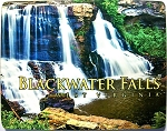 Blackwater Falls West Virginia Close Up Fridge Magnet Design 26