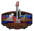 Cleveland Ohio Skyline Fridge Magnet