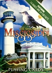 Mississippi with Gator Souvenir Playing Cards