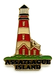 Assateague Island Lighthouse Hat Tac or Lapel Pin
