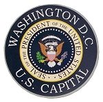 Washington D.C. U.S. Capital Presidential Seal Fridge Magnet