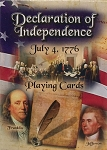 Declaration of Independence Playing Cards July 4th, 1776