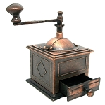 Small Coffee Grinder Die Cast Metal Collectible Pencil Sharpener