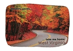 West Virginia Country Roads Take Me Home Artwood Fridge Magnet