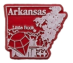 Arkansas Little Rock United States Fridge Magnet