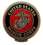 United States Marine Corps Seal Fridge Magnet