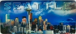 Seattle Skyline 3D Fridge Magnet