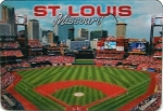 St. Louis Missouri 3D Fridge Magnet