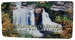 Blackwater Falls West Virginia Fall Scene Picture License Plate
