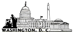Washington D.C. United States Fridge Magnet