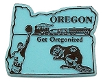 Oregon Get Oregonized United States Magnet