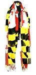 Maryland Flag Scarf