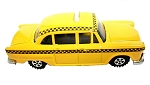 Yellow Taxi Die Cast Metal Collectible Pencil Sharpener