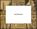St. Louis University Laser Engraved Wood Picture Frame (5 x 7)