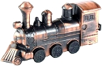 Steam Locomotive Die Cast Metal Collectible Pencil Sharpener