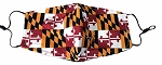 Maryland Flag Design Unisex Face Mask