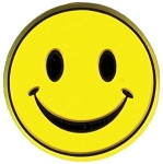 Smiley Face Fridge Magnet
