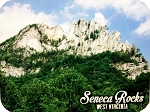 Seneca Rocks West Virginia Photo Fridge Magnet