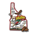 Idaho Jumbo State Map Fridge Magnet