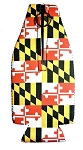 Maryland Flag Bottle Cooler