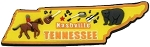 Tennessee Multi Color Fridge Magnet