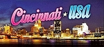 Cincinnati Ohio 3D Fridge Magnet
