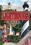 Lighthouses U.S.A 1st Edition with 52 Lighthouses Playing Cards