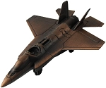 F-22 Raptor Fighter Jet Diecast Pencil Sharpener