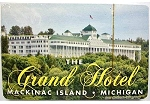 The Grand Hotel Mackinac Island Michigan Playing Cards