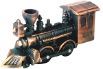 Old Time Locomotive Die Cast Metal Collectible Pencil Sharpener
