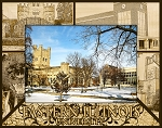 Eastern Illinois University Laser Engraved Wood Picture Frame (5 x 7)