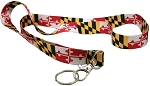 Maryland Flag Lanyard