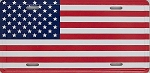 American Flag License Plate Novelty Fridge Magnet