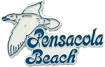 Pensacola Beach Florida Fridge Magnet