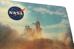 NASA with Space Shuttle Launching 3D Fridge Magnet